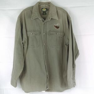 Cabela's Men's XLT Outdoor Gear Khaki Long Sleeve